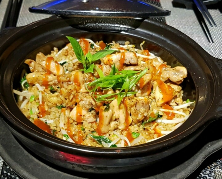 DFU9. Pho fried rice