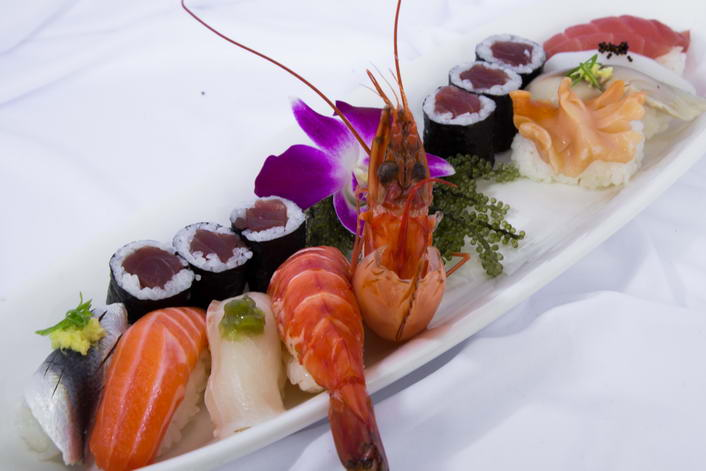 Sushi lunch set 1