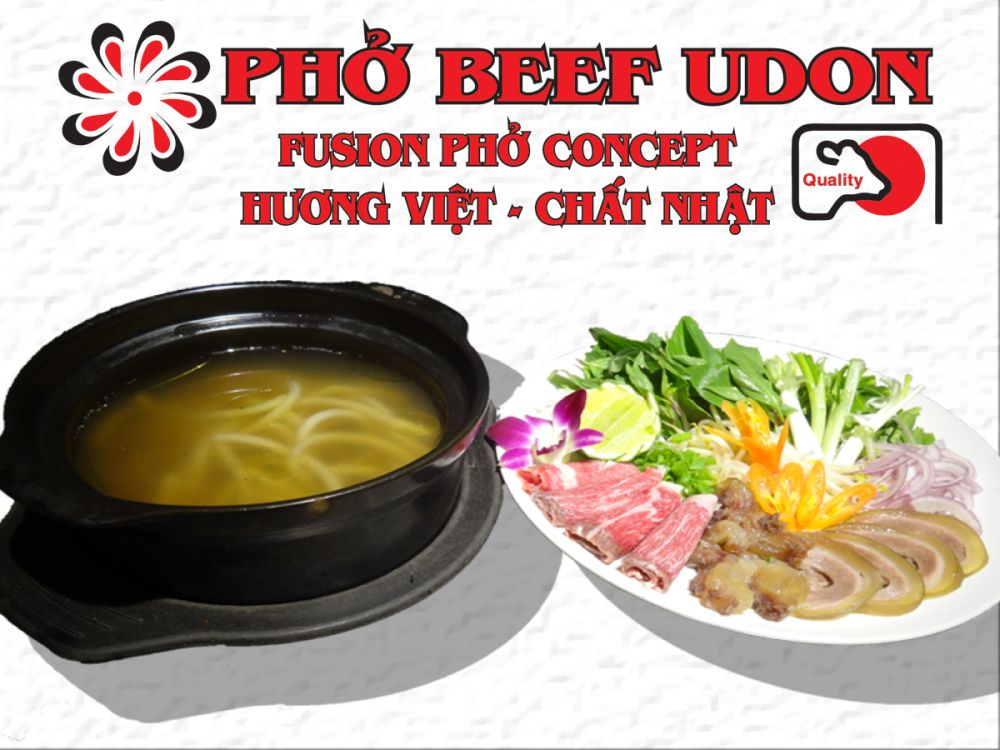 Pho Beef Udon